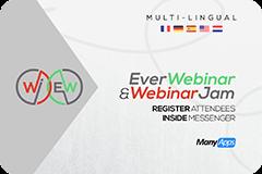 ManyChat Everwebinar and Webinarjam App