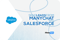 ManyChat Salesforce App